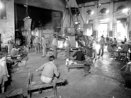 alte Fabrik Murano Glas