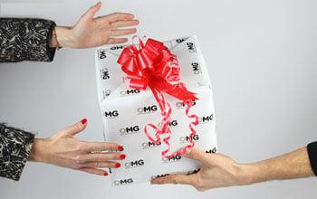 贈送禮物的想法Murano玻璃杯