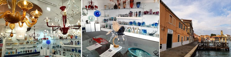show room fisical shop murano glass factory omg