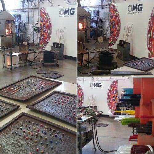 fornace OMG original Murano Glass fabbrica vetro