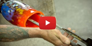 video how we make murano glass vase omg video