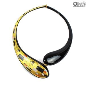 klimt_necklace_original_murano_glass_omg_gift99