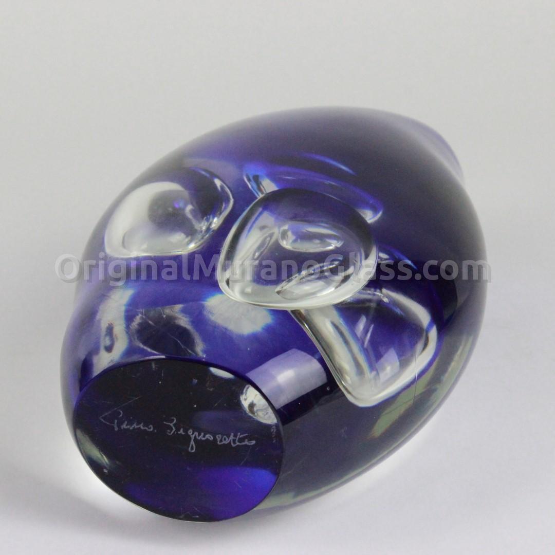 Stone with big  glass bubbles - Pino Signoretto