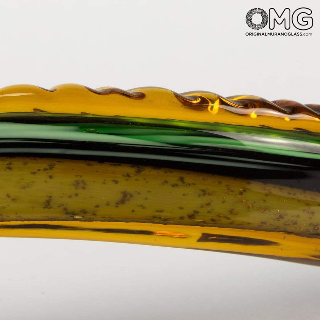 Alligator - Precious Sculpture - Original Murano Glass OMG