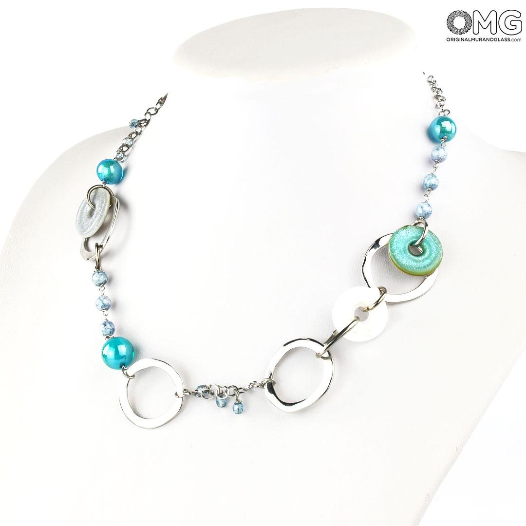 Necklace Ninfea - Antica Murrina Collection - Original Murano Glass