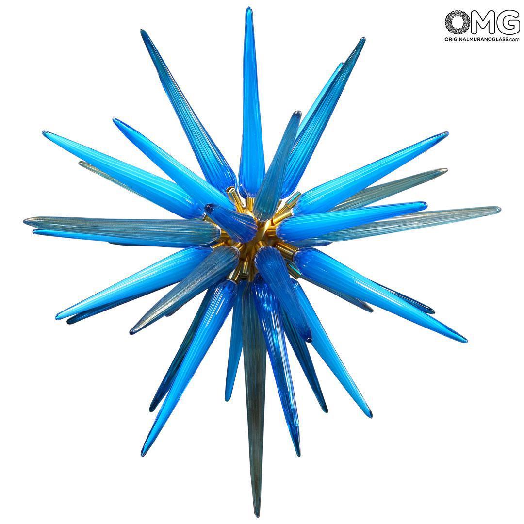 Люстра Эдельвейс - 16 ламп - муранское стекло OMG