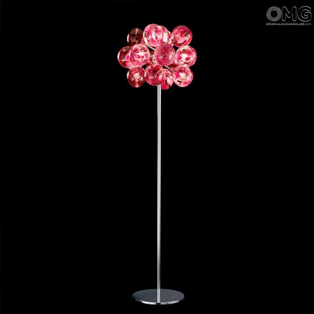 Table lamp - Atmosphera - red tone - Original Murano Glass OMG