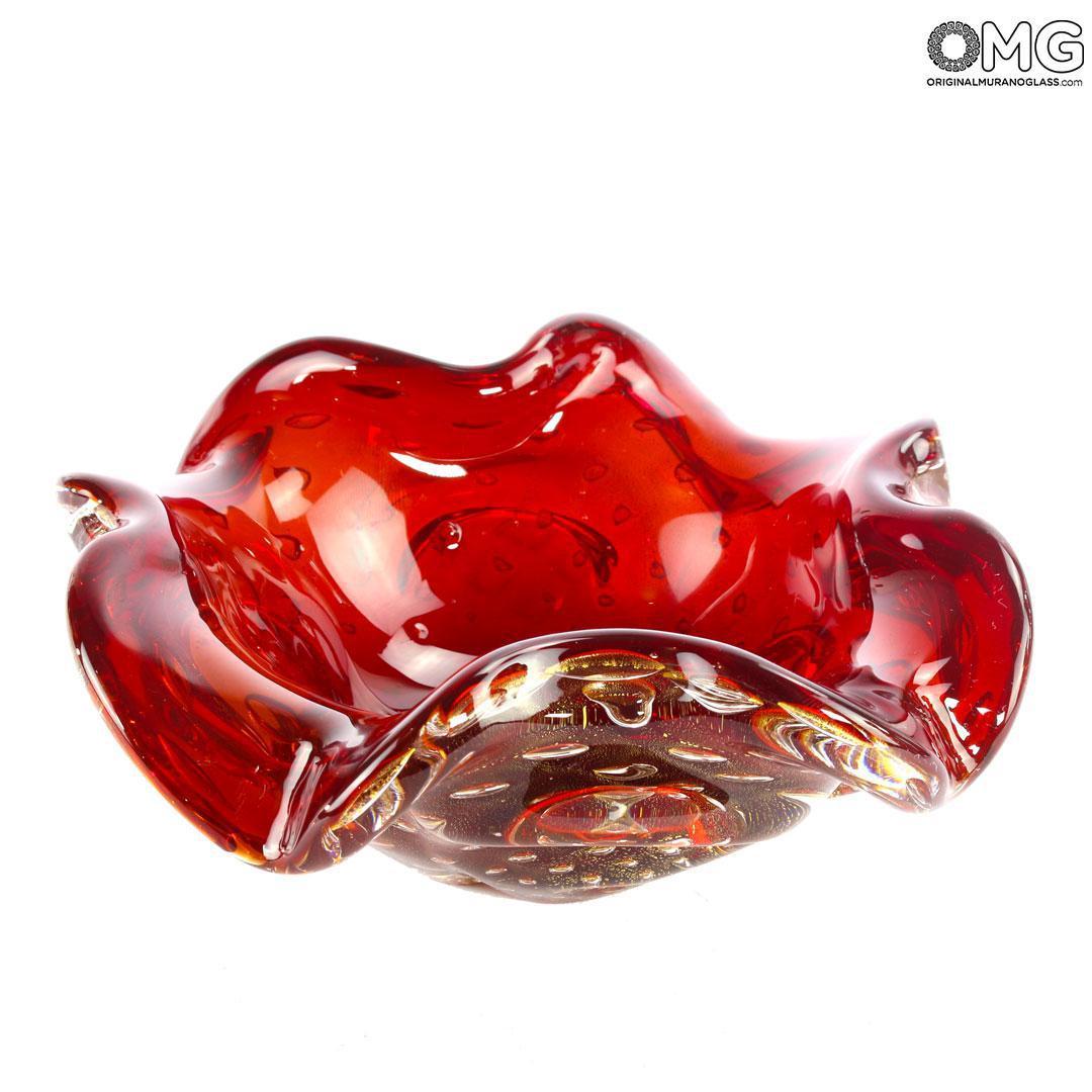 Ваза Провенца - соммерсо - муранское стекло OMG