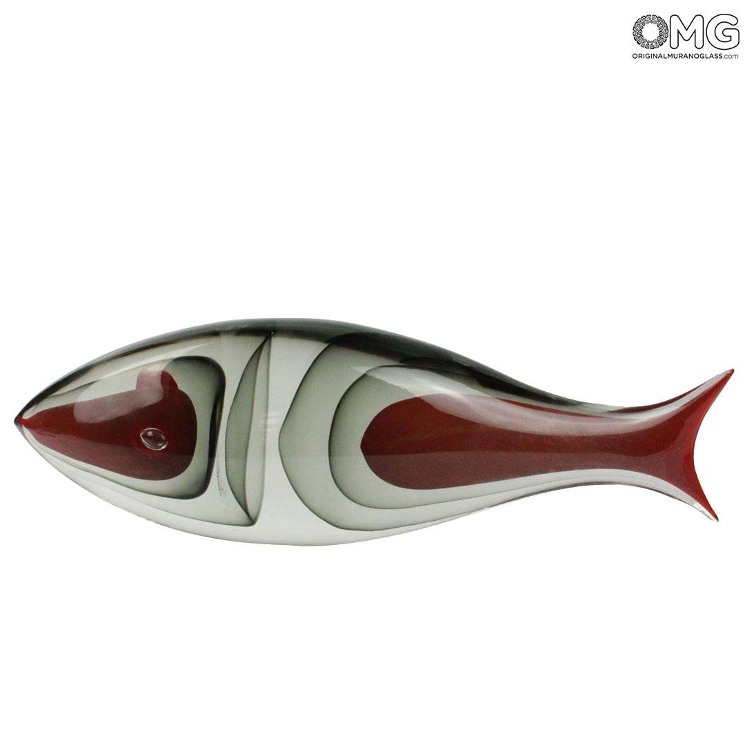 Fish Abstract - sculpture Murano Glass