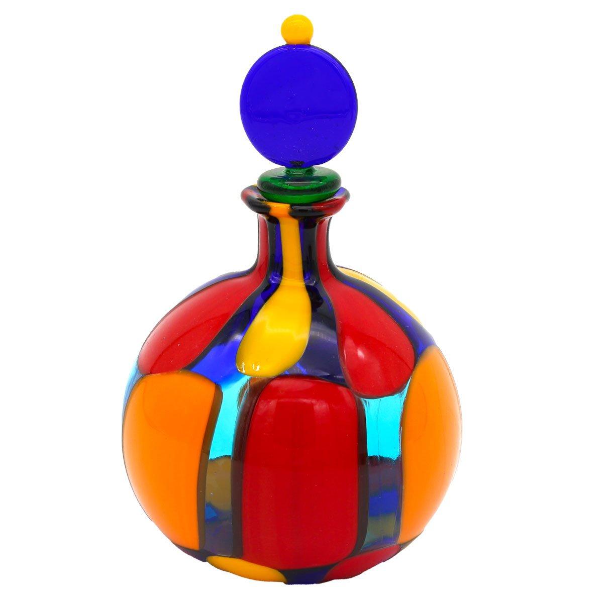 Scent Bottle Puzzle Round  - Original Murano Glass OMG