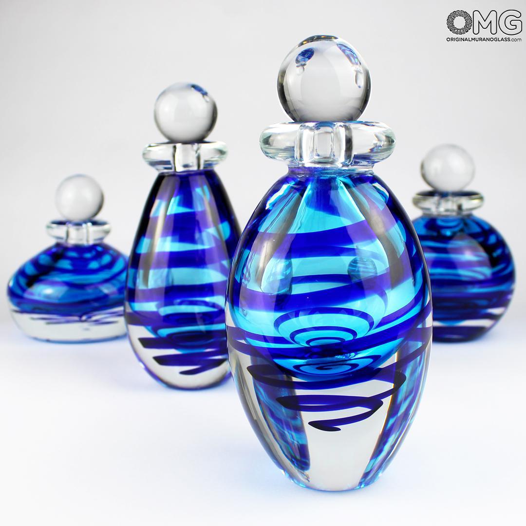 Bottle Adriatico - Sommerso - Original Murano Glass OMG