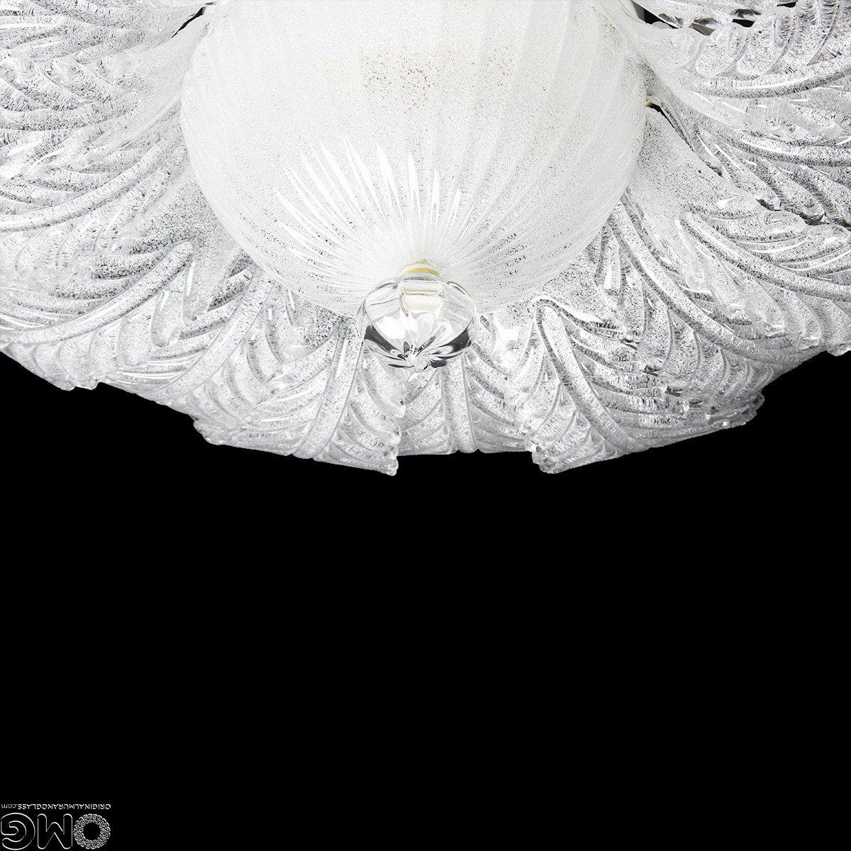 Потолочная лампа Тина - муранское стекло OMG