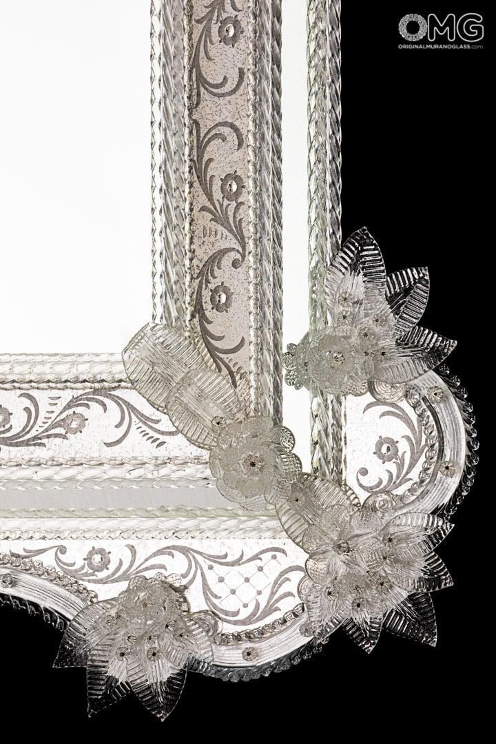 Cesare - SPECCHIO VENEZIANO - vetro di Murano