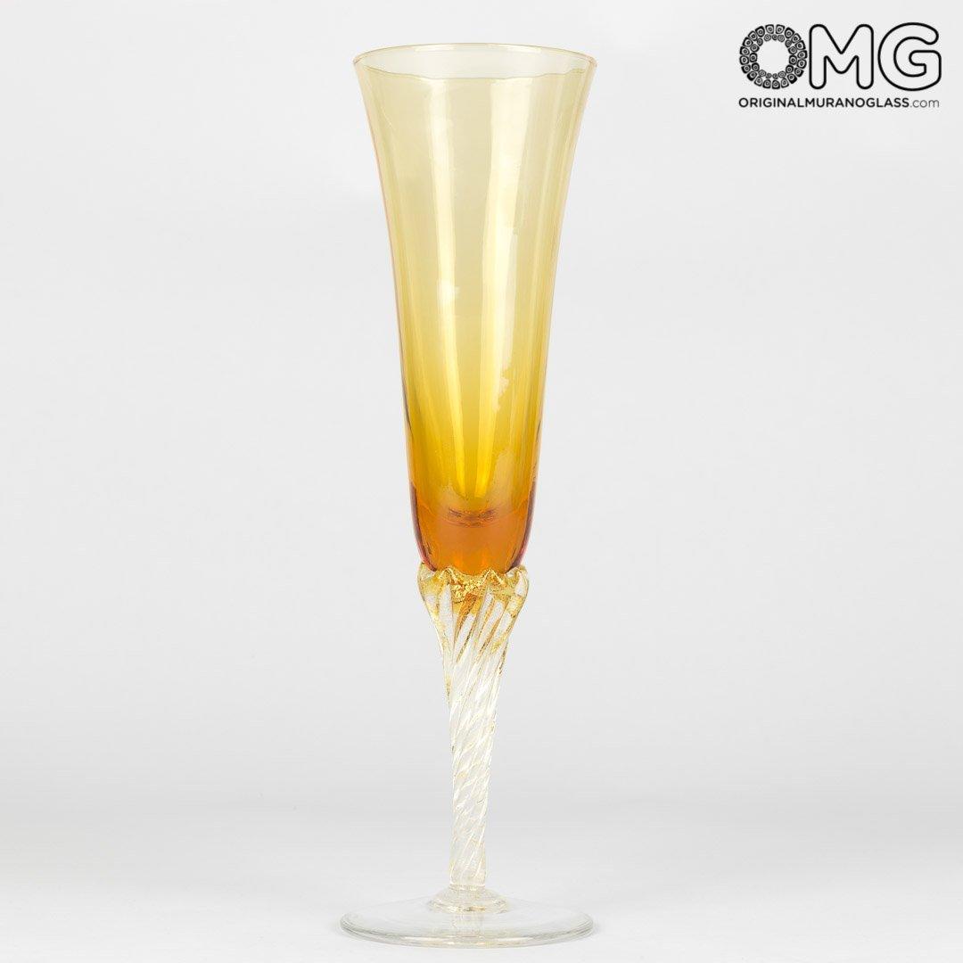 Champagne Flute - Set di 6 Pezzi Colorati
