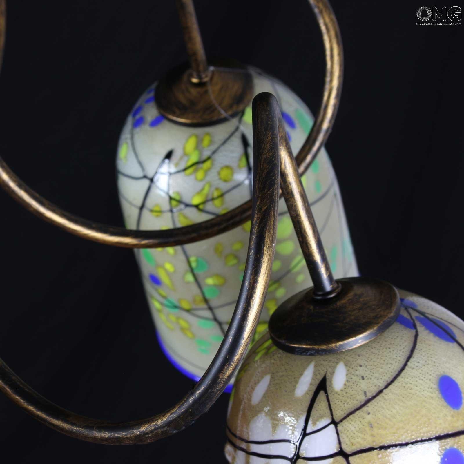 Kandinsky - Lampadario in vetro di Murano OMG - 3 luci