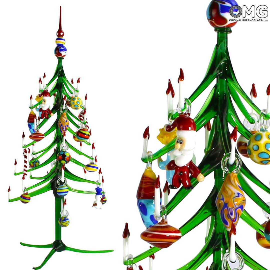 Christmas Tree Glass Xmas - Original Murano Glass OMG