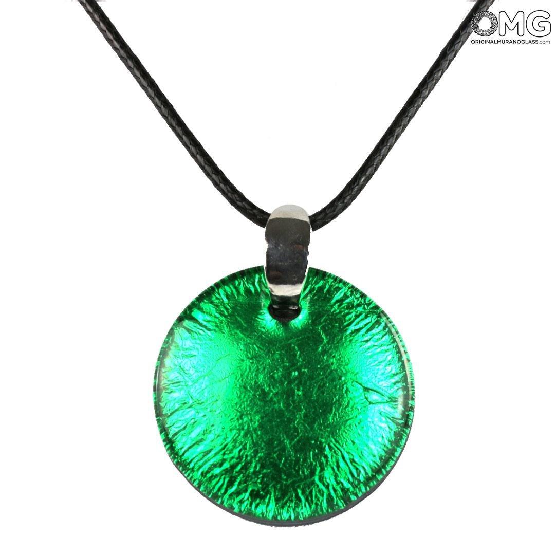 Pendant - Verde Silver - Orignal Murano Glass OMG