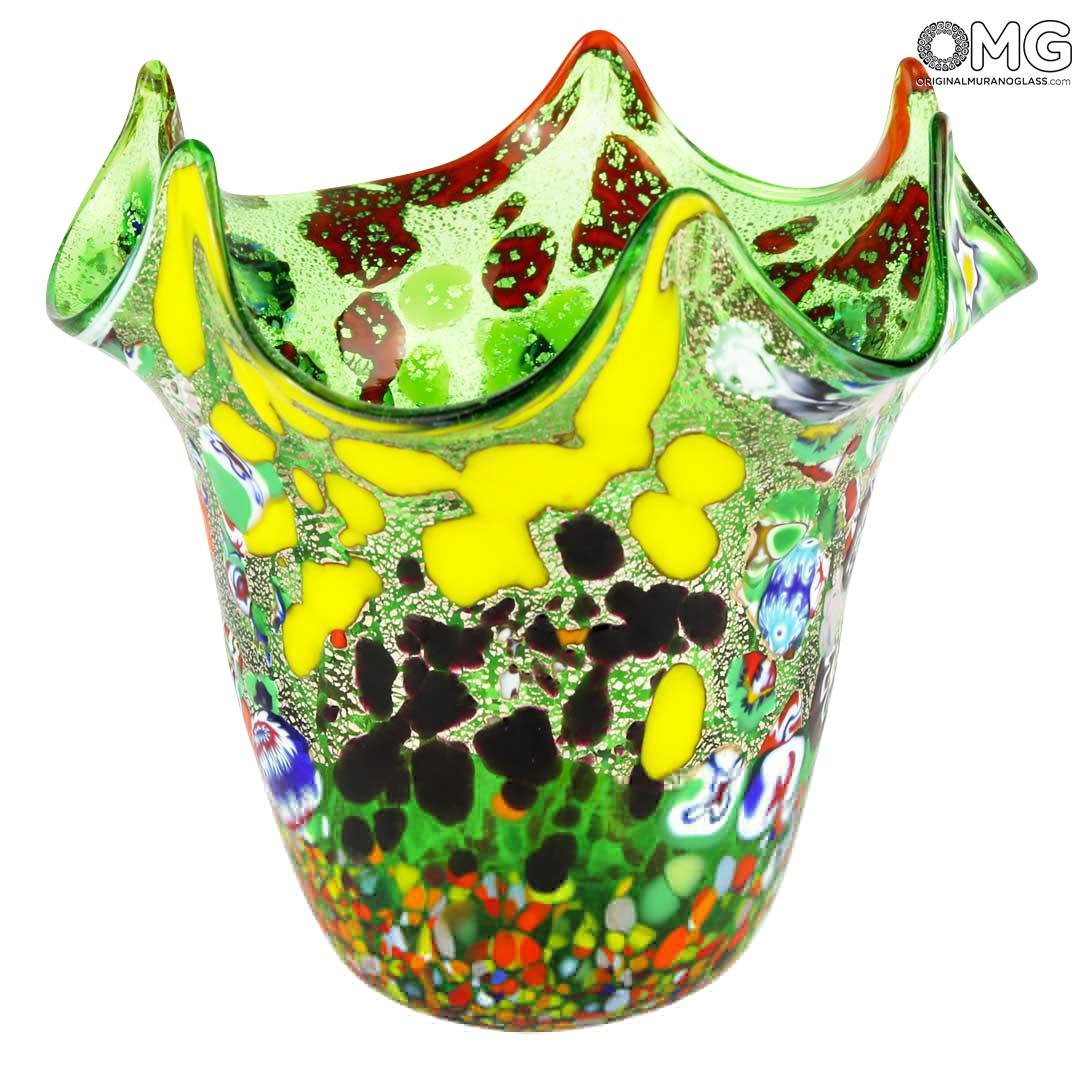 Vento - Green - Original Murano Glass OMG