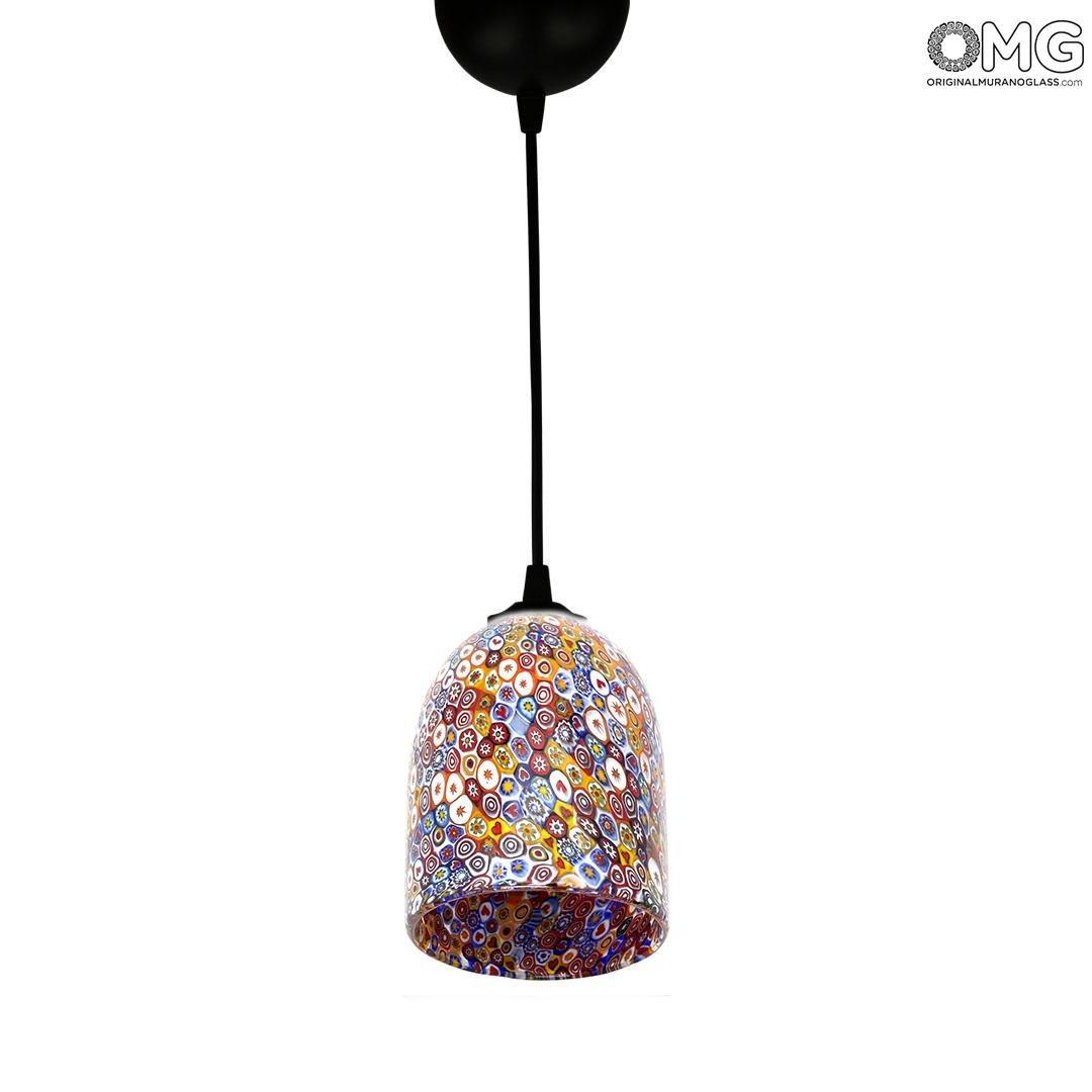 Потолочный светильник Миллефиори разноцветный - муранское стекло OMG