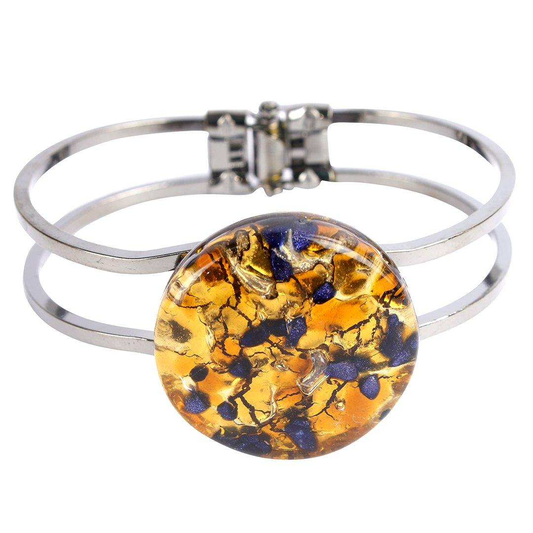 Bracelet Round Multicolor - Original Murano Glass clone