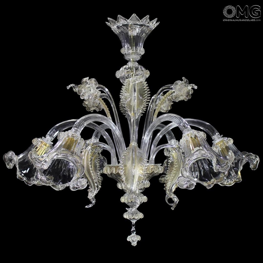 Chandelier Gemma Gold - Classique - Murano Glass