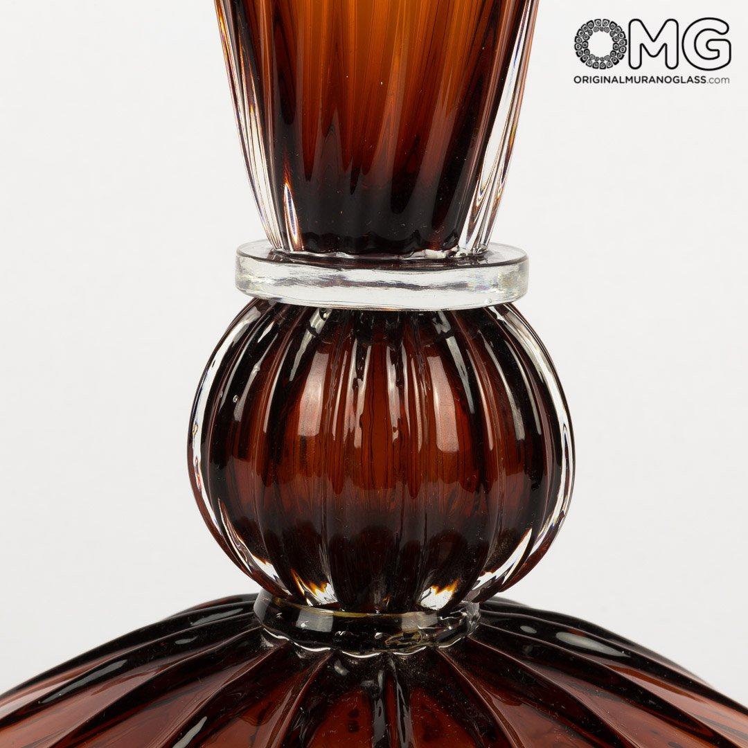 Giglio Cup - Amber - Original Murano Glass OMG