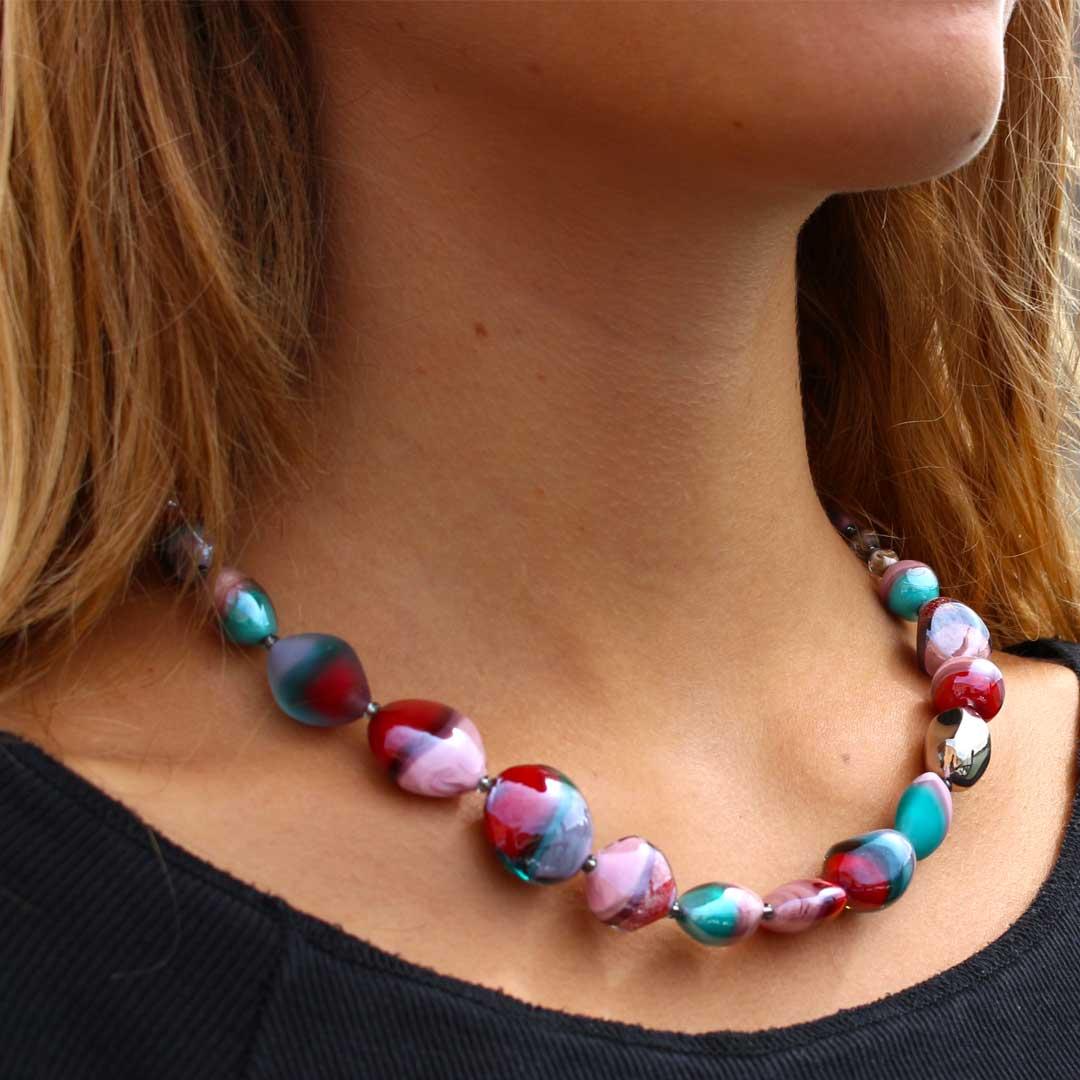 Necklace mademoiselle - Antica Murrina Collection - Original Murano Glass
