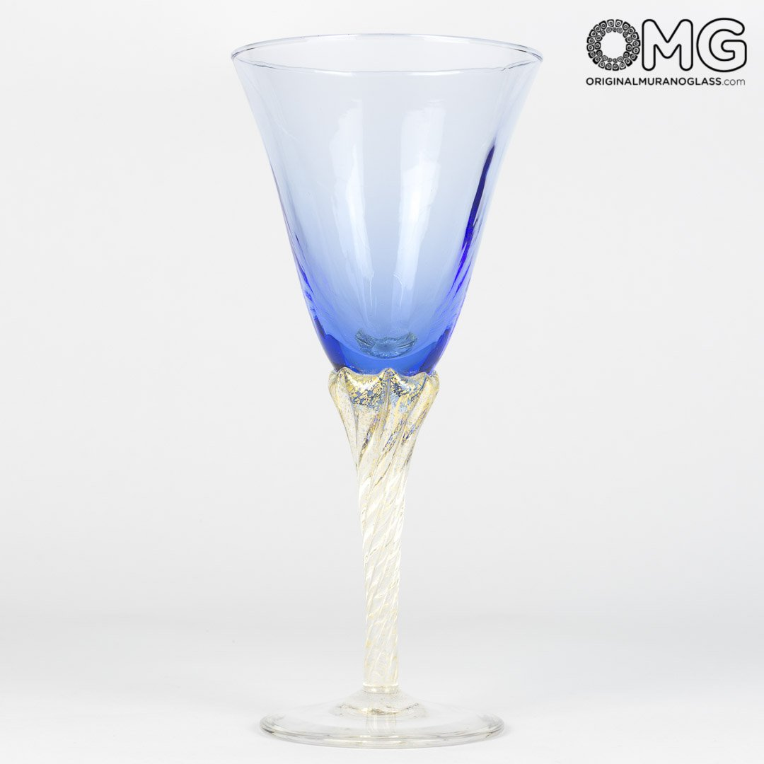 Limoncello Mix Colors Cup Set - 6 Blown Glasses