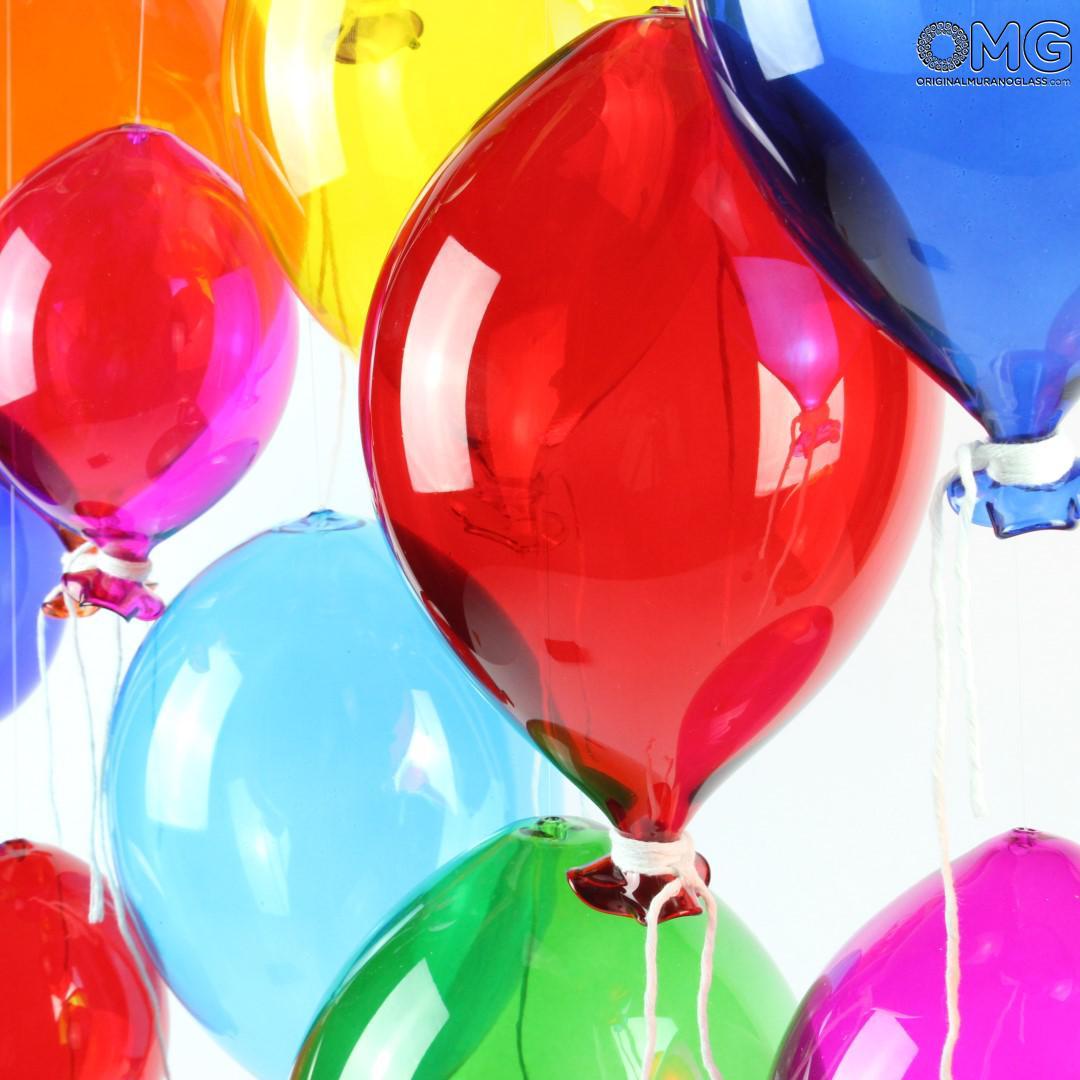 Glass Balloon Murano Original - to hang as decorations - Original Murano Glass OMG