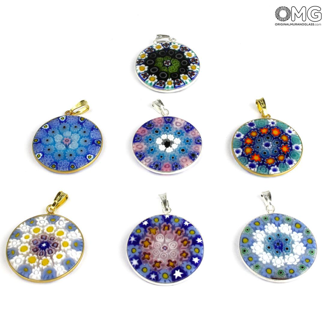 Murrina Pendant - One Piece - Original Murano Glass OMG®