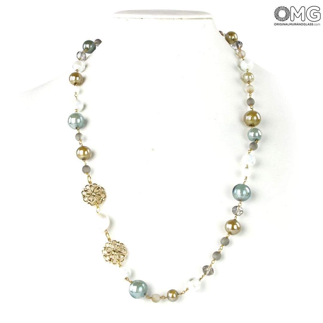 Necklace Crystal - Antica Murrina Collection - Original Murano Glass