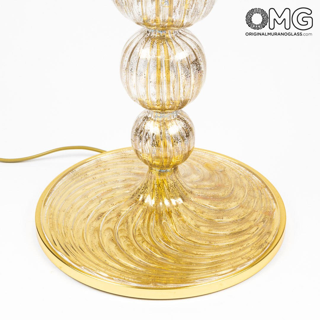 Table Lamp Old Venice - Blown Original Murano Glass