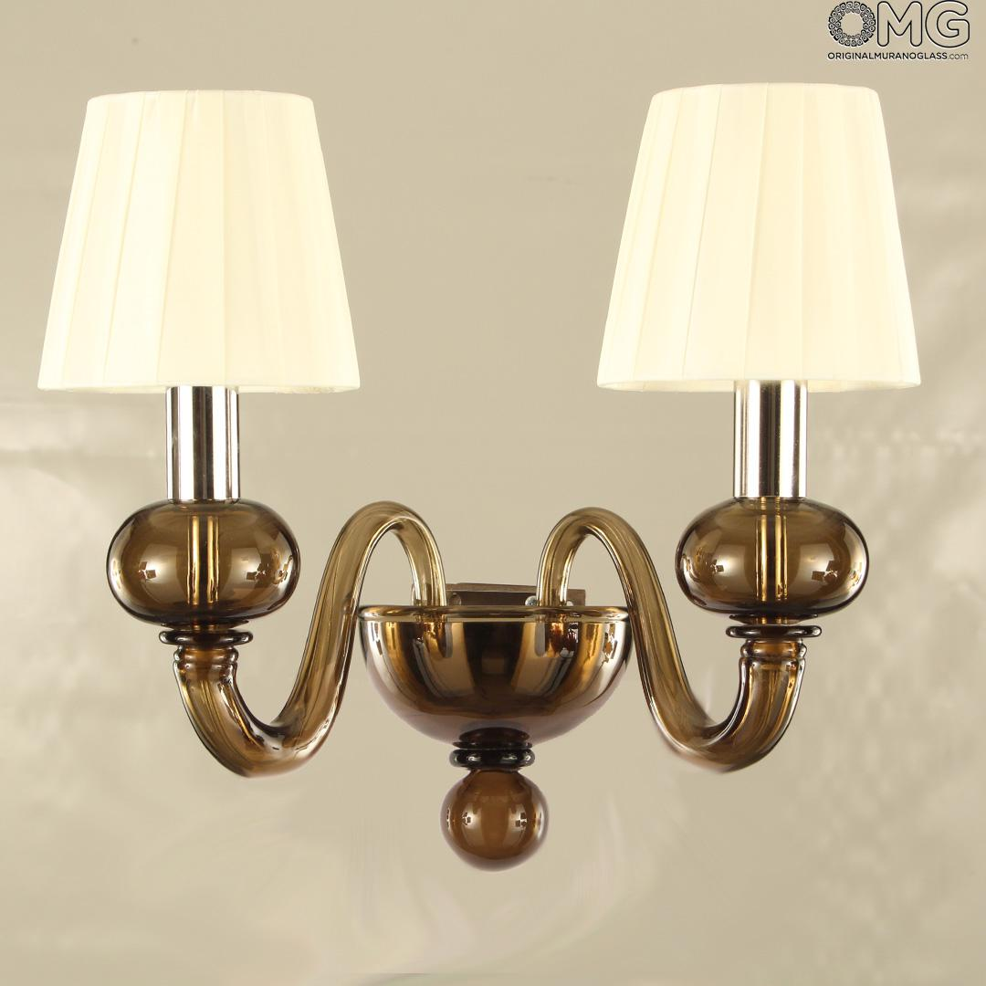 Shanghai - Wall Lamp Sconce Applique - Luxury - Original Murano Glass