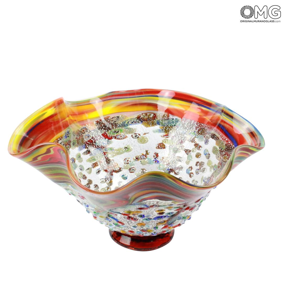 FortePiano - Centerpiece - Millefiori and silver