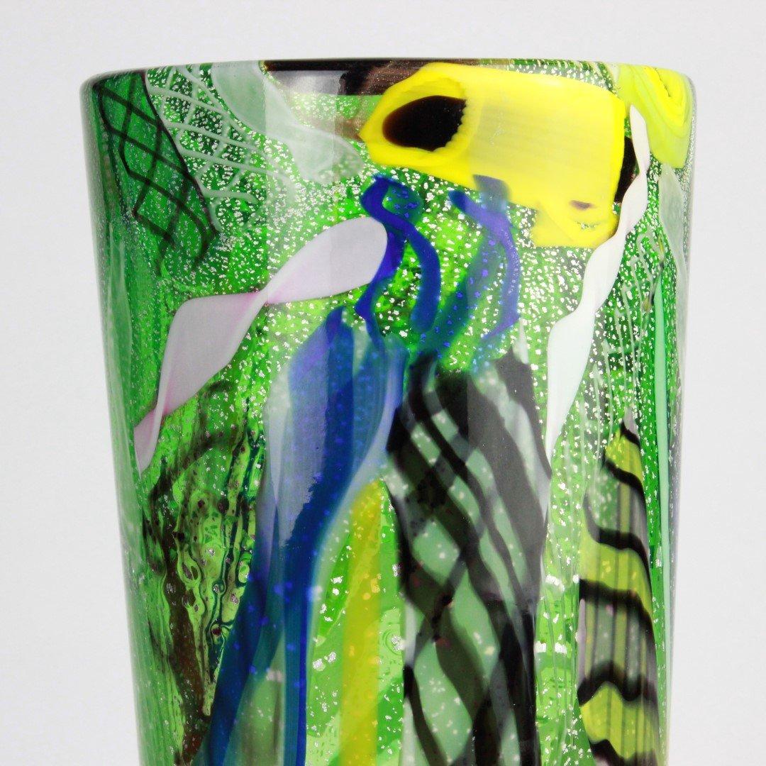 Vase Murrina - Green - Original Murano Glass OMG