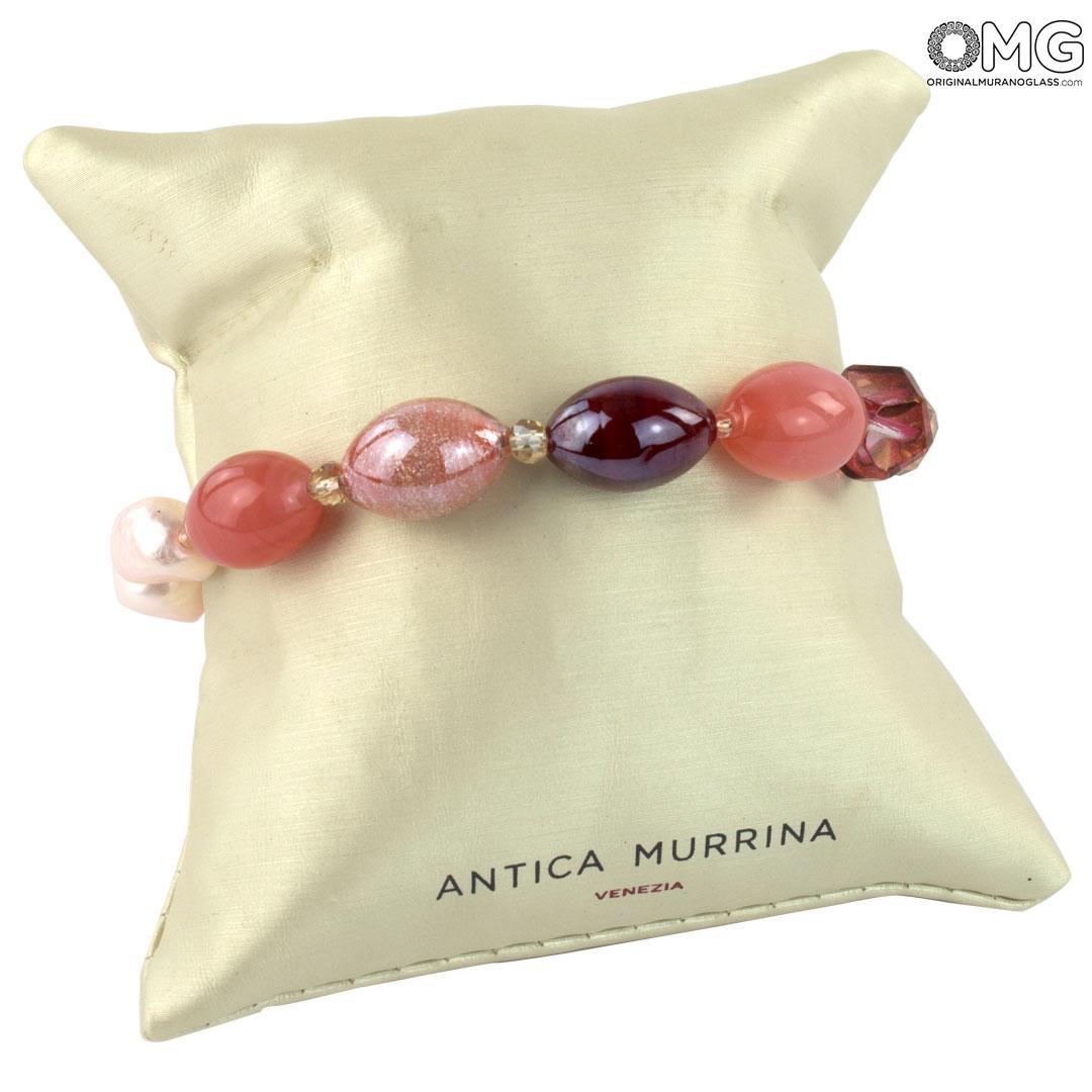 Petals Bracelet - Antica Murrina Collection - Original Murano Glass