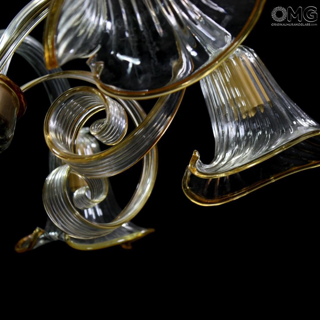 Ceiling lamps Luna - Aquatic - Murano Glass
