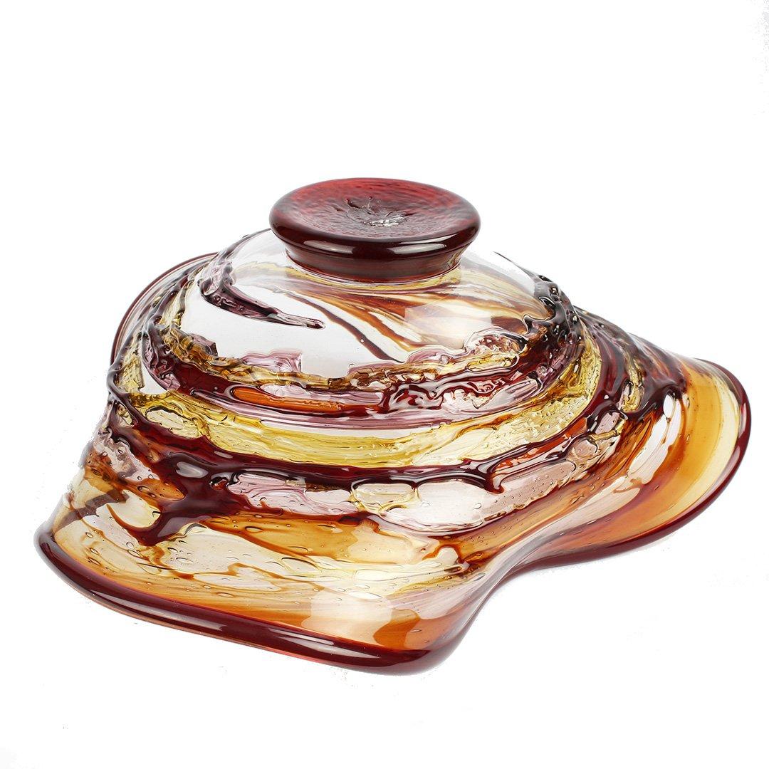 Sbruffi Plate Kyros - Bowl Glass - Original Murano Glass OMG