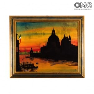 008-001-picture-with-frame-on-murano-glass-plate