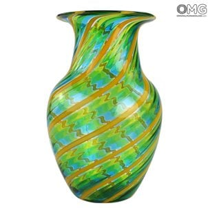canes_vase_green_murano_glass_1