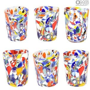 carnevale_original_murano_glass_drinking_glasses_set