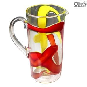 chagal_murano_glass_pitcher_set_1