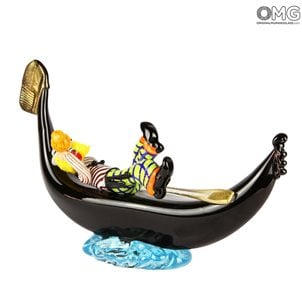 clown_murano_glass_figurine_on_gondola_omg