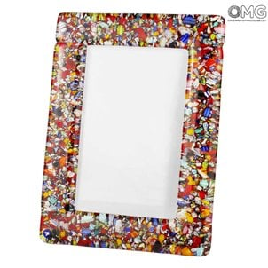 cornice_photoframe_murano_glass_omg_red_millefiori_99