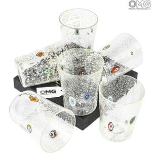 crystal_with_real_silver_leaf_and_murrine_glasses_set