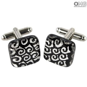 boutons de manchette_black_original_murano_glass_2