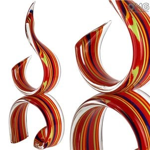 double_red_ribbon_murano_glass_1