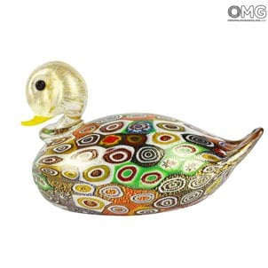 duck_millefiori_murano_glass_with_murrine