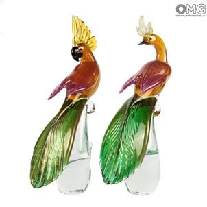 female_parrot_gold_leaf_original_murano_glass_98