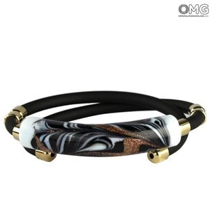 fiammingo_black_bracelet_murano_glass_1